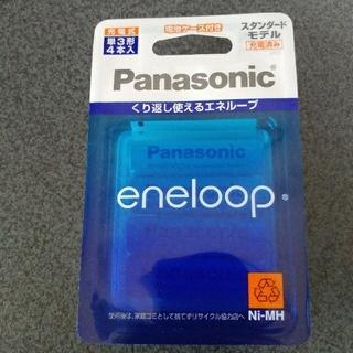 パナソニック(Panasonic)のエネループ 単3形 eneloop 単3形 4本入り BK-3MCC/4C(バッテリー/充電器)