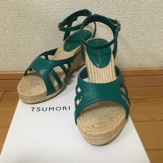ツモリチサト(TSUMORI CHISATO)のツモリチサト エスパドリーユサンダル(サンダル)