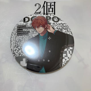 ヒプノシスマイク 缶バッジ 独歩 4th(キャラクターグッズ)
