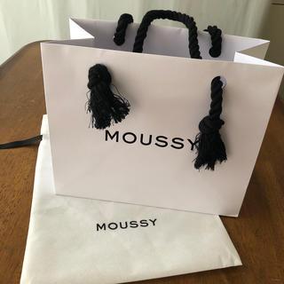 マウジー(moussy)のMOUSSY 紙袋、布袋(ショップ袋)