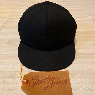 テンダーロイン(TENDERLOIN)の人気品! TENDERLOIN トラッカー キャップ ダック ブラック 黒 帽子(キャップ)