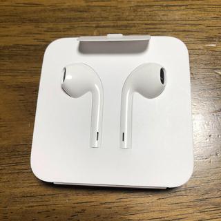 アップル(Apple)のアップル iPhone イヤホン earphone 正規品(ヘッドフォン/イヤフォン)
