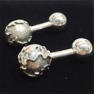 ティファニー(Tiffany & Co.)のティファニー 地球儀 silver シルバー カフリンクス 美品(カフリンクス)