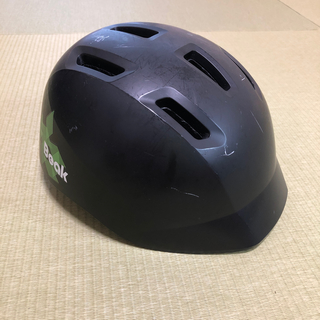 ブリヂストン(BRIDGESTONE)のBRIDGESTONE ブリヂストン 自転車用ヘルメット 黒(ヘルメット/シールド)