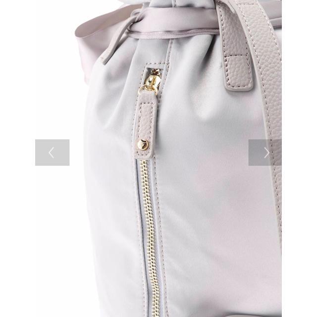 Maison de FLEUR(メゾンドフルール)のMaison de FLEUR 巾着リボンバッグ レディースのバッグ(リュック/バックパック)の商品写真