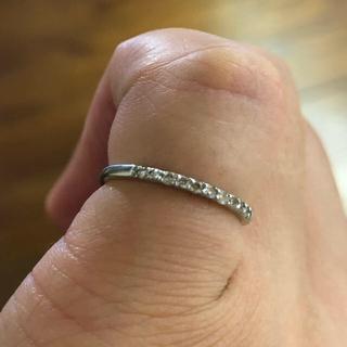 プラチナ ピンキーリング4号(リング(指輪))