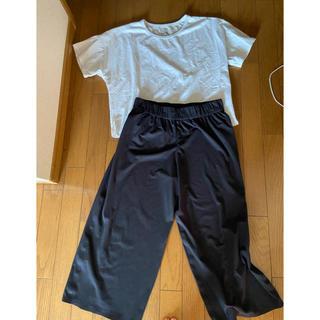 ザノースフェイス(THE NORTH FACE)のノースフェイスuvカットティシャツ&パンツ(Tシャツ(半袖/袖なし))
