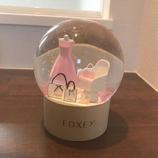 フォクシー(FOXEY)のFOXEY スノードーム スプリングバージョン(置物)