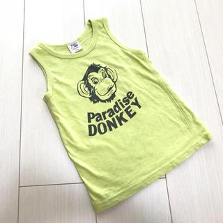 ドンキージョシー(Donkey Jossy)の★Donkey Jossy★グリーン タンクトップ★美品★110★(Tシャツ/カットソー)