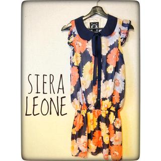 シエラレオン(SIERA LEONE)の新品 SIERA LEONE ワンピース ISBIT フリー(ミニワンピース)