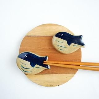 クジラ 箸置きセット(テーブル用品)