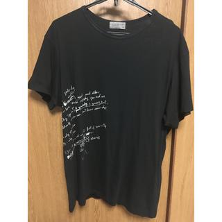 ヨウジヤマモト(Yohji Yamamoto)のYohji Yamamoto 19ss リリックカットソー(Tシャツ/カットソー(半袖/袖なし))