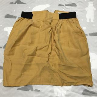 ケービーエフ(KBF)のスカート 黄色(ミニスカート)