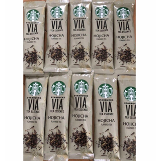 スターバックスコーヒー(Starbucks Coffee)のSTARBUCKS VIA® ティーエッセンス  ほうじ茶 10本→20本(茶)