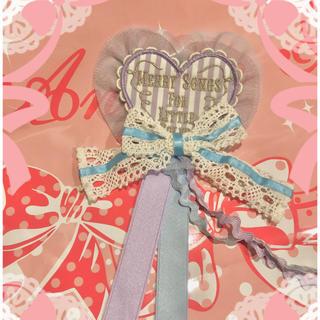 アンジェリックプリティー(Angelic Pretty)のangelic prettyハートブローチ(ブローチ/コサージュ)