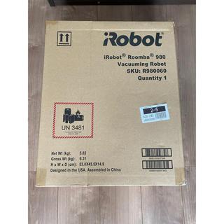 アイロボット(iRobot)の新品未使用 IROBOT ルンバ980 付属品多数(掃除機)