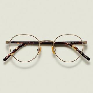 アヤメ(Ayame)のMOSCOT ZIS アンティークゴールド 伊達眼鏡(サングラス/メガネ)