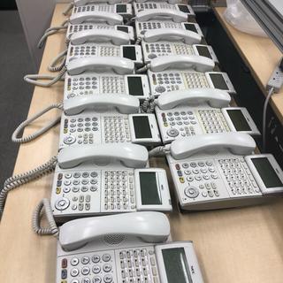 エヌイーシー(NEC)のDTL-24D-1D(WH) 24ボタンデジタル多機能電話機13台(その他)