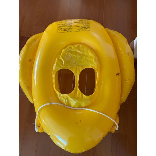 アンパンマン(アンパンマン)のアンパンマン ハンドル付き安心足入れ浮き輪 ベビーボート紐付き スポーツ/アウトドアのスポーツ/アウトドア その他(マリン/スイミング)の商品写真