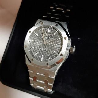 オーデマピゲ(AUDEMARS PIGUET)のオーデマピゲ ロイヤルオーク 15450st グレー① ※付属品別売(腕時計(アナログ))