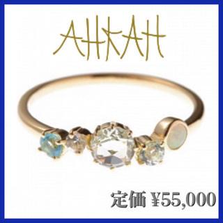 アーカー(AHKAH)の【アーカー】K18 FJORD フィヨルドリング #9(リング(指輪))