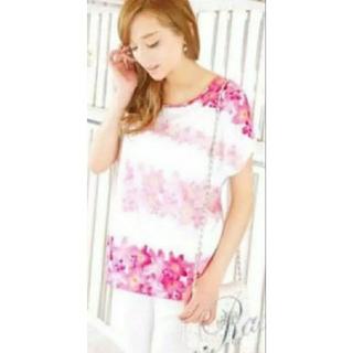 レディー(Rady)のrady 花柄 Tシャツ(Tシャツ/カットソー(半袖/袖なし))