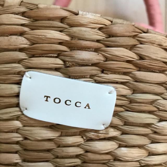 TOCCA(トッカ)の【新品】定価19000円+税 トッカ TOCCA かごバッグ レディースのバッグ(かごバッグ/ストローバッグ)の商品写真