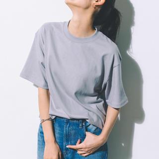 シップスフォーウィメン(SHIPS for women)のkoe/【UNISEX対応】ヘビーウェイトコットンTEE/色 グレー/コットン(Tシャツ(半袖/袖なし))
