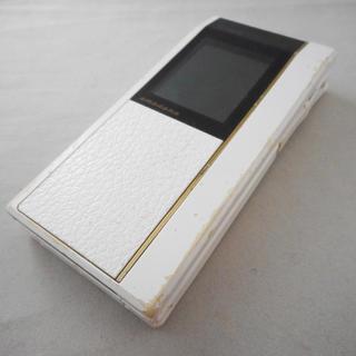 エヌイーシー(NEC)のN706iII FOMA ポリッシュホワイト★ドコモ中古携帯ガラケーdocomo(携帯電話本体)