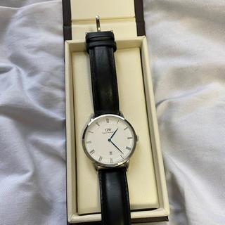 ダニエルウェリントン(Daniel Wellington)のDaniel Wellington 腕時計 ダッパー ヨーク シルバー38mm (腕時計(アナログ))