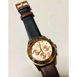 マークバイマークジェイコブス(MARC BY MARC JACOBS)のマークジェイコブス ピンクゴールド 腕時計(腕時計)