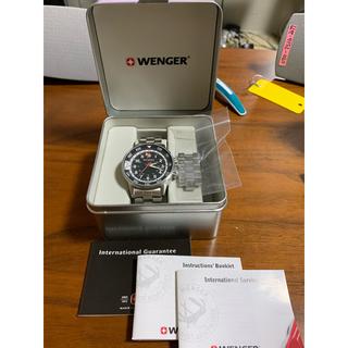 ウェンガー(Wenger)の廃盤)Wenger ウェンガー GMT ウォッチ(腕時計(アナログ))