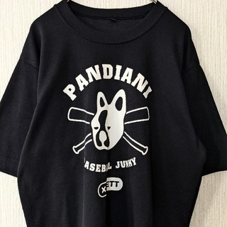 ゼット(ZETT)のPANDIANI×ZETTコラボ 半袖Tシャツ ブラック 野球(Tシャツ/カットソー(半袖/袖なし))