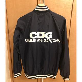 COMME des GARCONS - 【お値下げしました!美品】コムデギャルソン CDG スタジャンネイビー