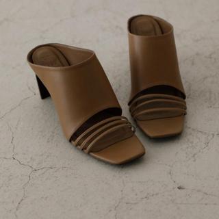 アメリヴィンテージ(Ameri VINTAGE)のRIM.ARK  Thin line square heel(ハイヒール/パンプス)