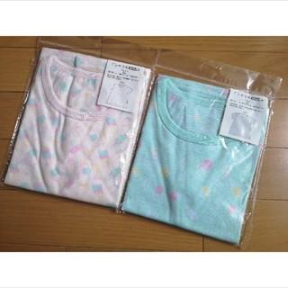 ジェラートピケ(gelato pique)の【新品未使用】アイスクリーム柄 Tシャツ2色セット(Tシャツ/カットソー)