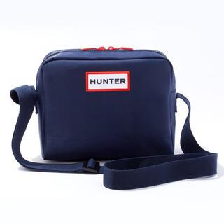 ハンター(HUNTER)のHUNTER ハンター ショルダーバッグ ネイビー ムック ムック本 付録(ショルダーバッグ)