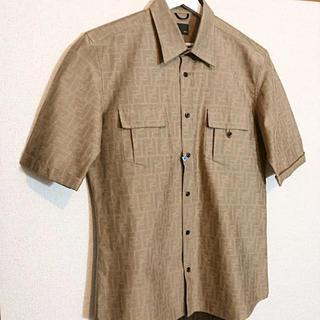 フェンディ(FENDI)のFENDI フェンディ ズッカ柄 半袖シャツ(シャツ)