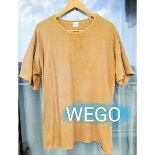 ウィゴー(WEGO)の【WEGO BROWNY】Tシャツ ベージュ 半袖(Tシャツ/カットソー(半袖/袖なし))