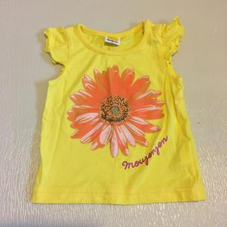 ムージョンジョン(mou jon jon)の美品 ノースリーブフリルT 80(Tシャツ)