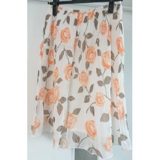 ヨンドシー(4℃)の4℃ スカート サイズ38(ひざ丈スカート)