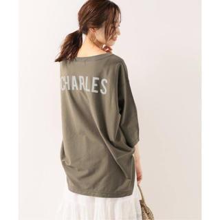 イエナスローブ(IENA SLOBE)の【SLOBE IENA】 CHARLES バックプリントTシャツ(Tシャツ(長袖/七分))