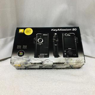 ニコン(Nikon)の【新品】Nikon 防水ウェアラブルカメラ KeyMission(ビデオカメラ)