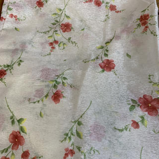 ベルメゾン(ベルメゾン)の花柄レースカーテン 1枚(レースカーテン)