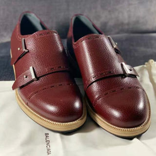 バレンシアガ(Balenciaga)のBALANCIAGA 靴 ワインレット(ドレス/ビジネス)