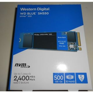 ウエスタンエディション(Western Edition)のWestern Digital SSD 500GB(PC周辺機器)
