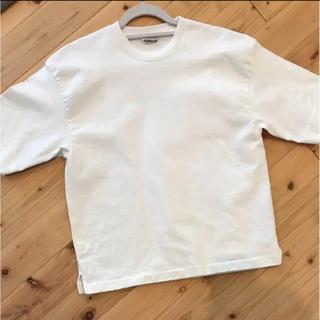 ヤエカ(YAECA)のオーラリー スタンドアップTシャツ(Tシャツ(半袖/袖なし))