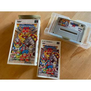 バンプレスト(BANPRESTO)のザ ・グレイトバトルⅣ(スーパーファミコン用ソフト)(家庭用ゲームソフト)