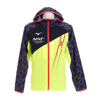 ミズノ(MIZUNO)の特価 MIZUNOミズノ NXT ウィンドブレーカーシャツ メンズ XL(ナイロンジャケット)