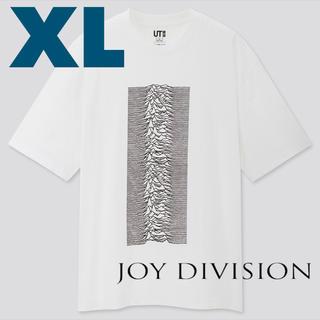 ユニクロ(UNIQLO)のXL UNIQLO Joy Division Tシャツ ホワイト(Tシャツ/カットソー(半袖/袖なし))